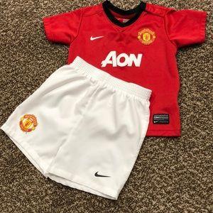 Nike Manchester United Uniform